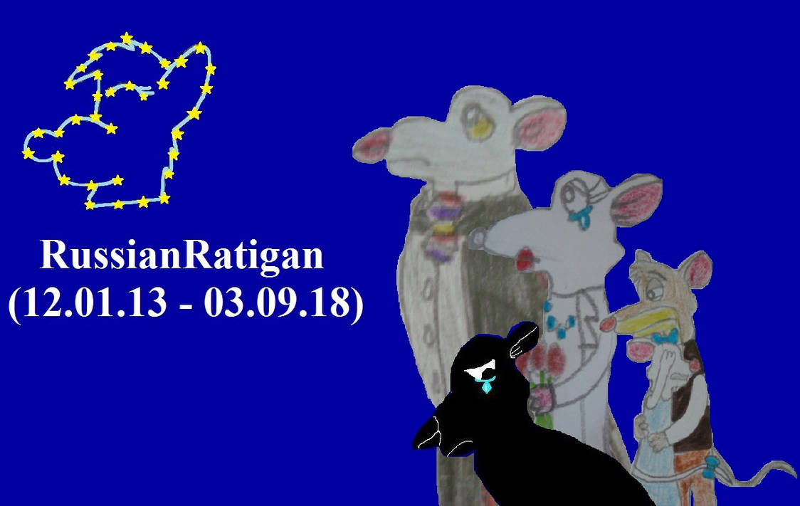 We miss you, RussianRatigan!