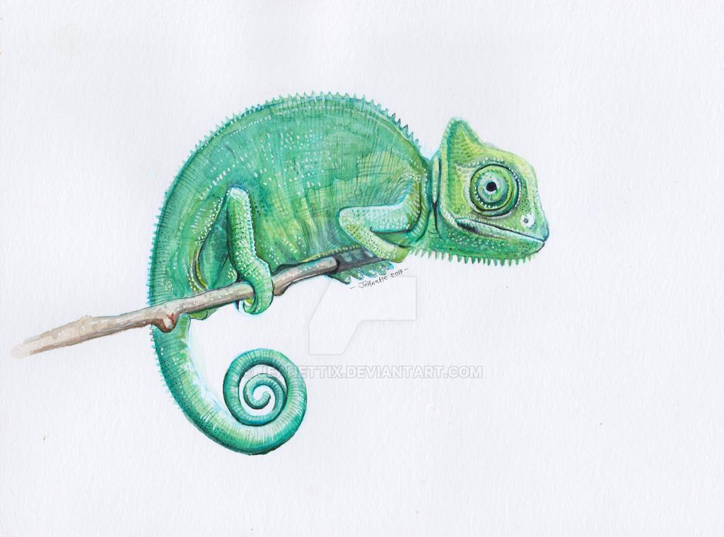 1711 Chameleon by jeanettix