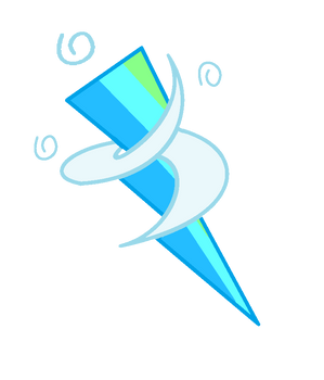 Mlp (Ng 2) Blue Streak Cutie Mark