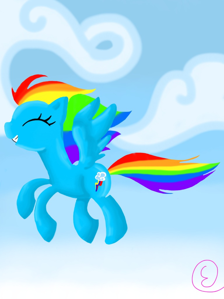 rainbow dash iphone wallpaper - photo #12