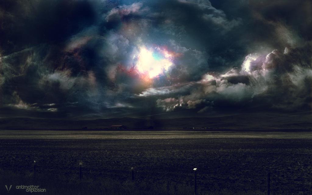 The Antimatter Explosion by SKL7 on DeviantArt