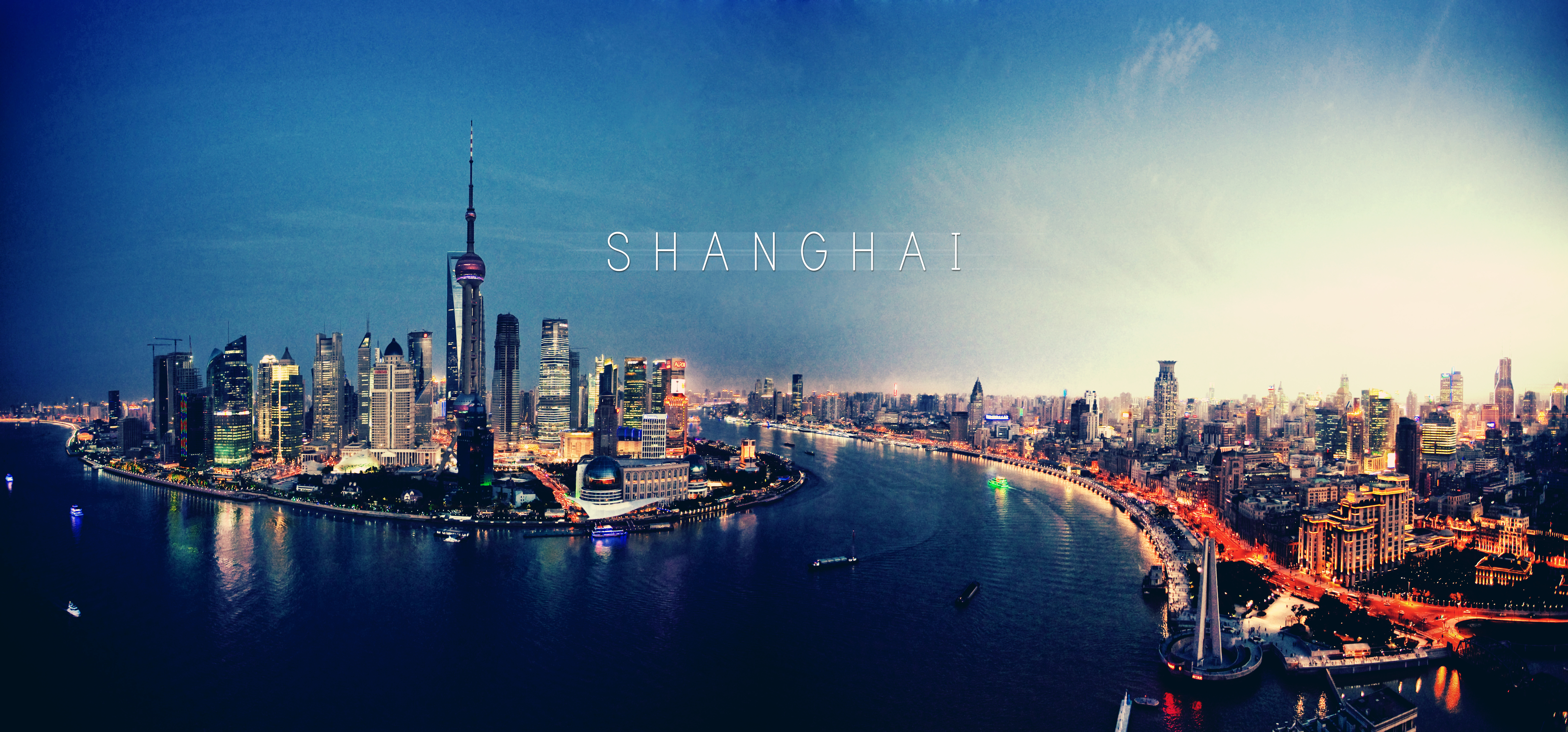 shanghai skyline wallpapers pictures - photo #1
