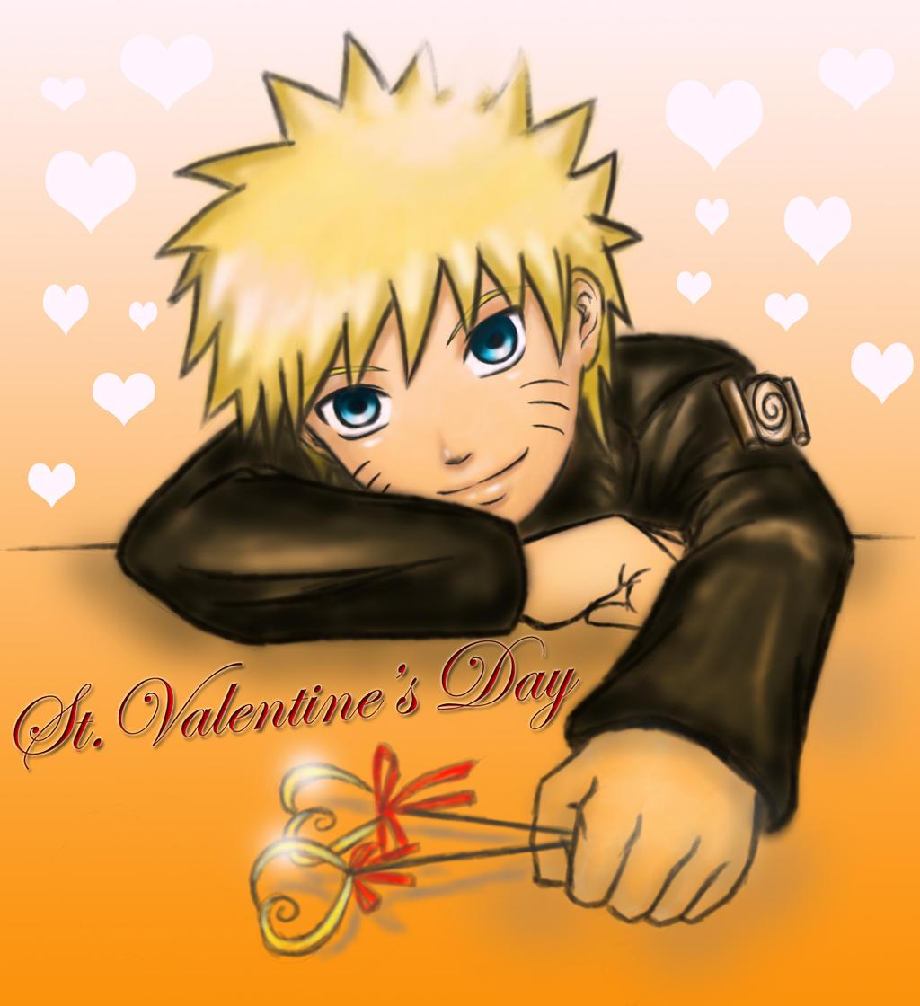 Naruto st valentine 39 s day by rutisa on deviantart - Happy valentines day anime ...
