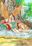 Eros y Psique- Eros and Psyche