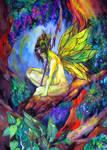 forest fairy-hada del bosque by zaradei