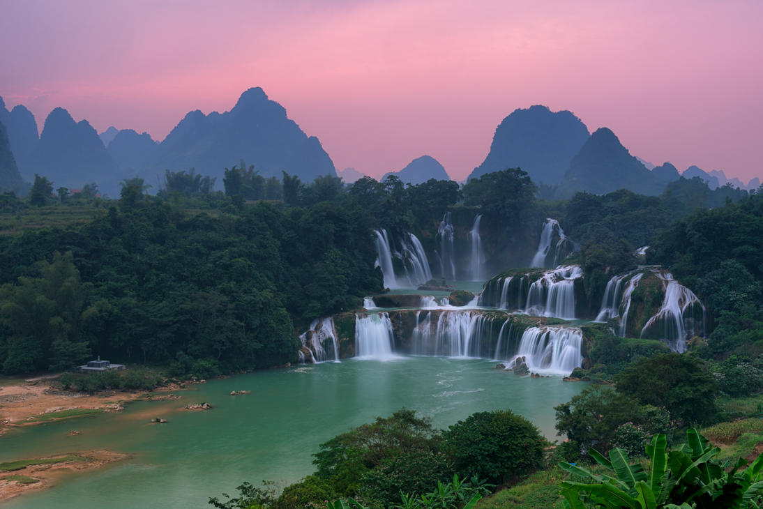 Detian Waterfall by minhhai21