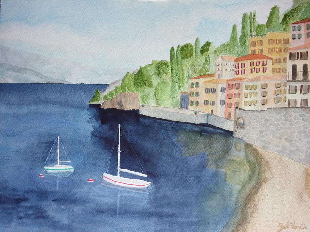 Italy Painting by punkboyzak
