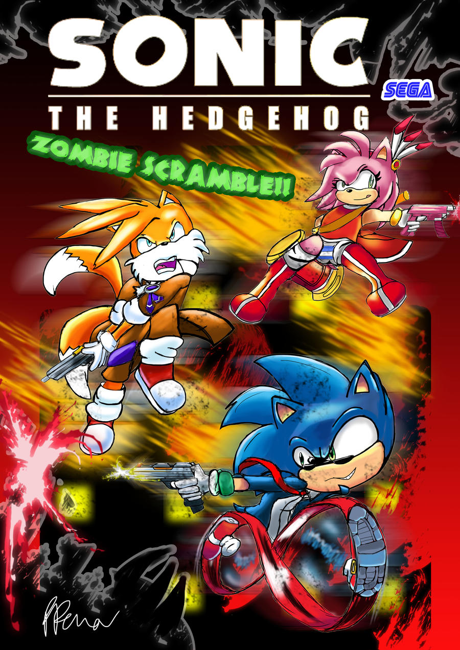 Zombie Scramble Sonic The Hedgehog By Neognome On Deviantart