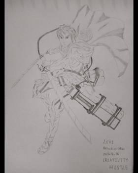 Captain Levi - Attack On Titan