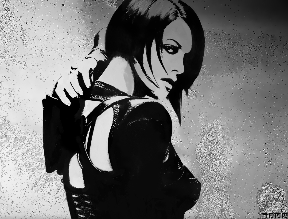 Aeon Flux by adriano10 on DeviantArt