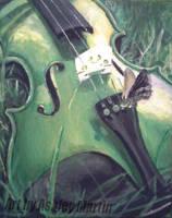 Summer Violin by Art-By-Ashley-Martin