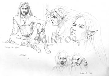 Drizzt by CurlyJul