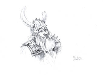 Brenor Battlehammer by CurlyJul