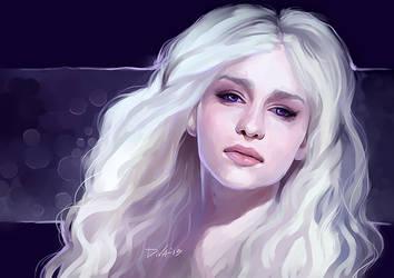 Daenerys Targaryen Stormborn by CurlyJul