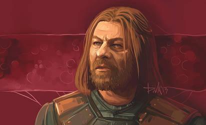 Eddard Stark by CurlyJul