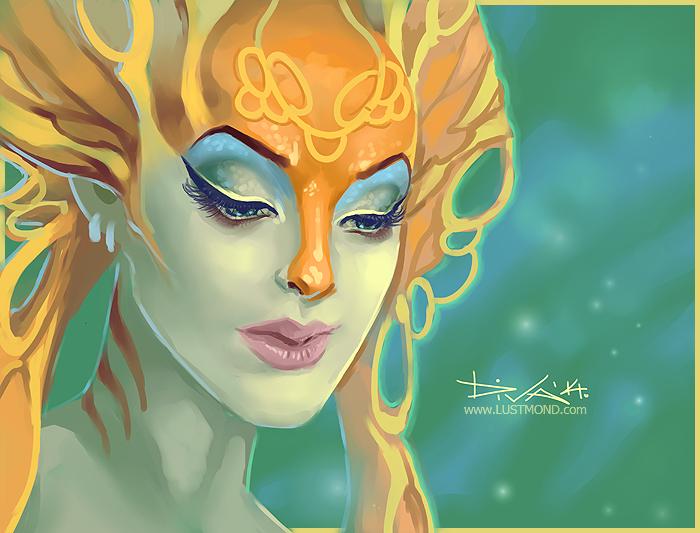 Naga Siren by CurlyJul