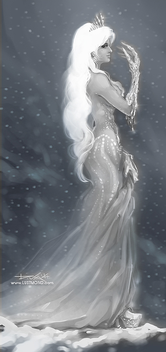 Snow Queen by CurlyJul