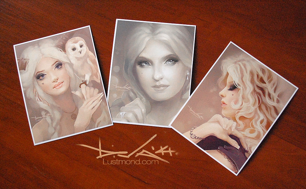 Latte Days Postcards by CurlyJul