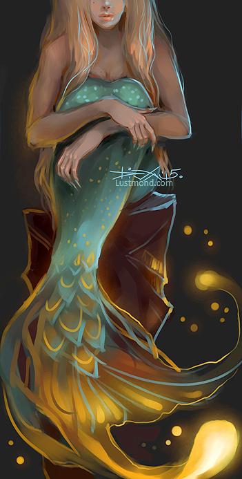 Mermaid by CurlyJul