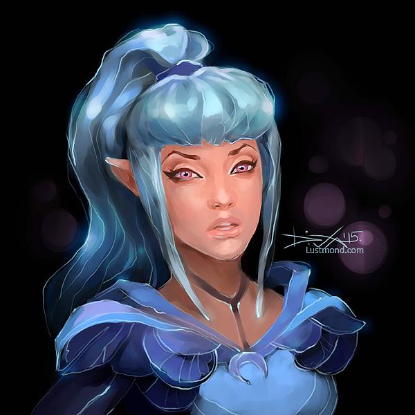 Luna by CurlyJul