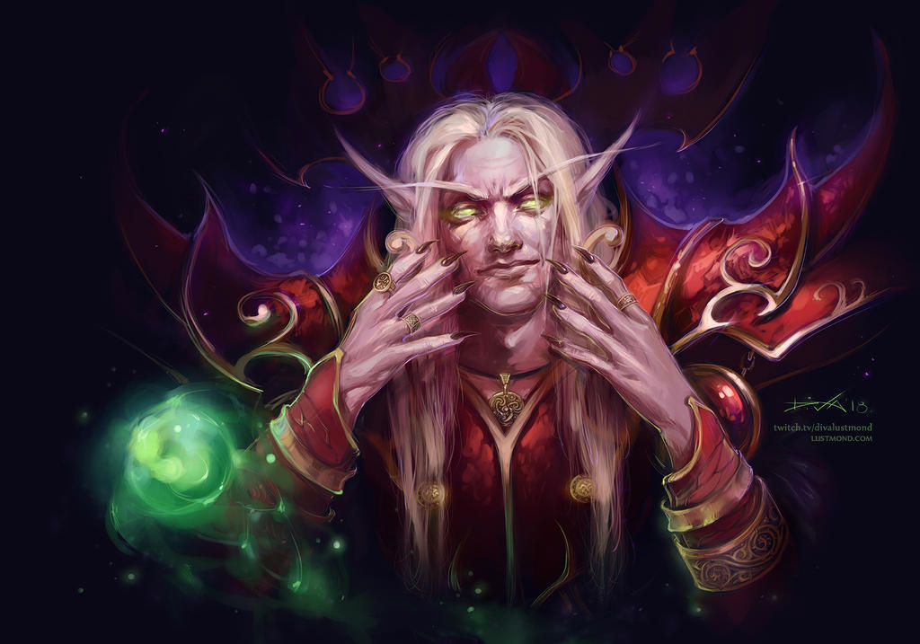 Kael'thas Sunstrider by CurlyJul