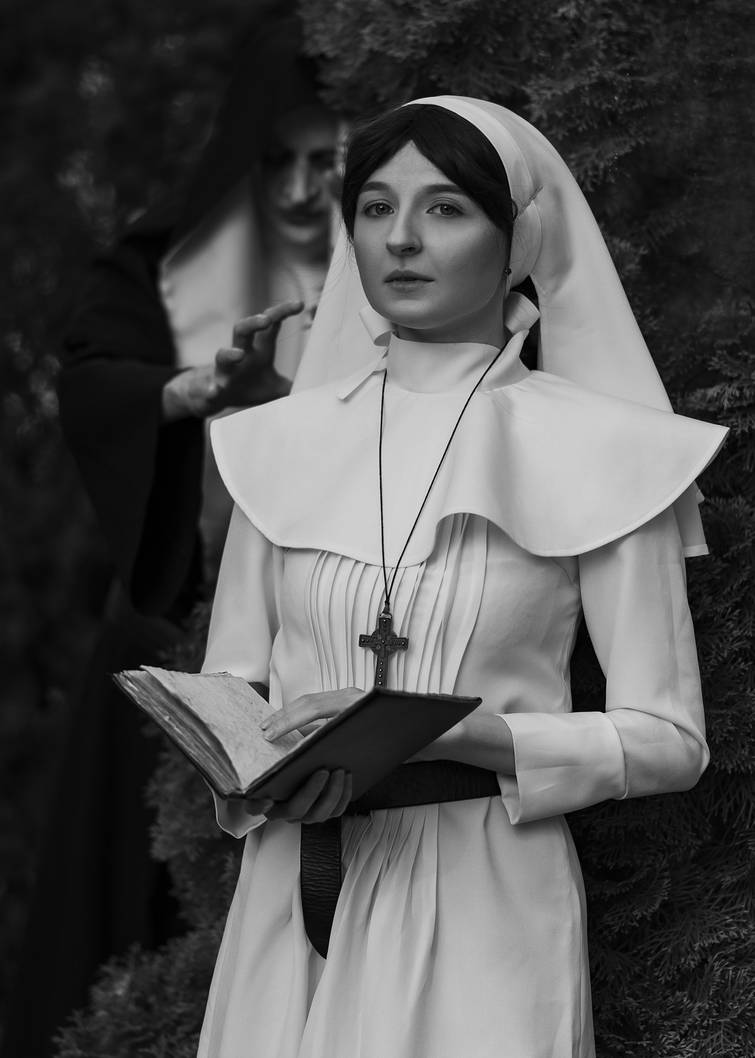 The Nun by CurlyJul