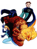 Fantastic Four by MasonEasley