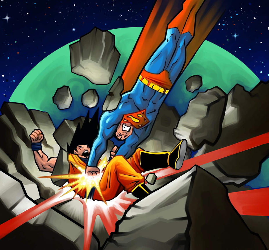 Epic Battle: Goku vs Superman by MasonEasley on DeviantArt