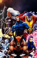 X-Men by MasonEasley