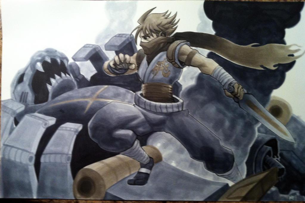 Strider by MasonEasley