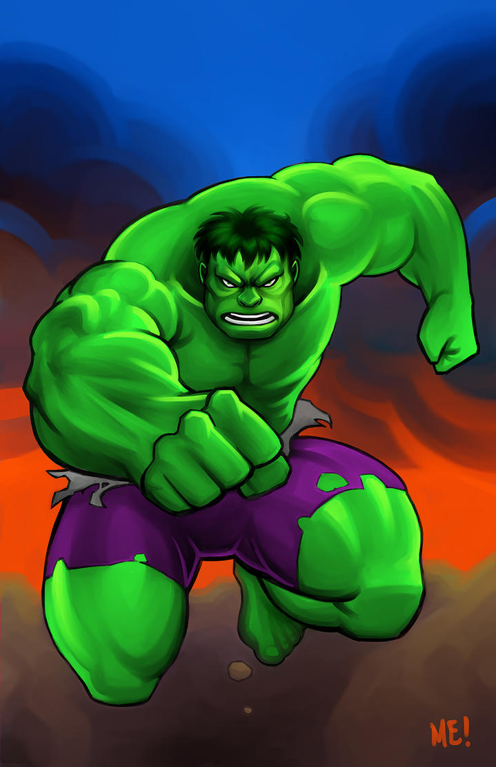 Hulk by MasonEasley