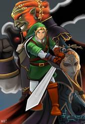The Legend of Zelda by MasonEasley