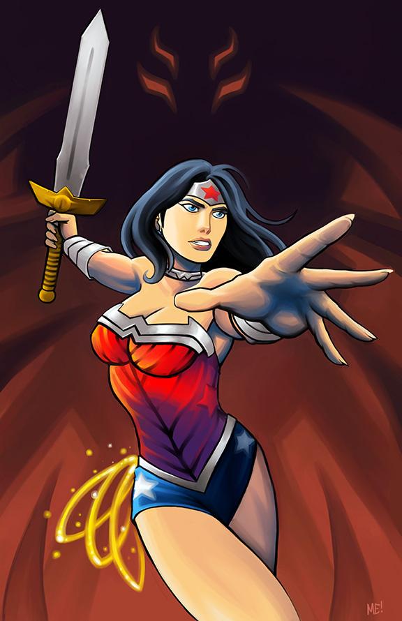 Wonder Woman by MasonEasley