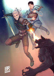 The Witcher - Geralt and Jaskier