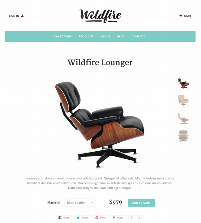 Free Shopify Themes- Solo by johanhns on DeviantArt