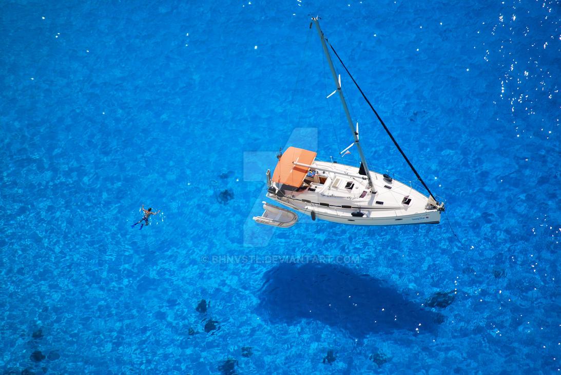 Snorkeling in Zakynthos by BHnvSTL