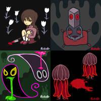 Yume Nikki Month: Days 1-4 by Rickz0r