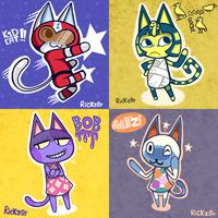 Animal Crossing Month: Days 17- 20 by Rickz0r