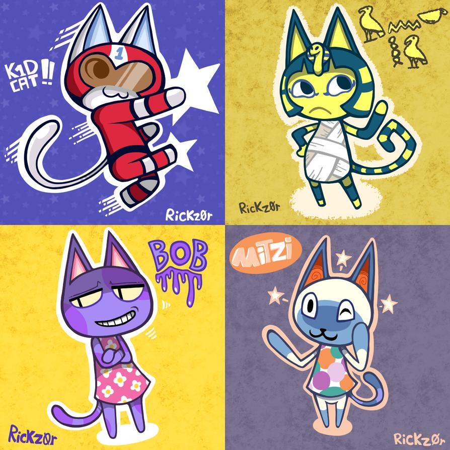 Animal Crossing Cats Mitzi