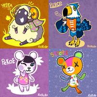 Animal Crossing Month: Days 29-31 by Rickz0r