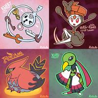 PokeddeXY: Days 5-8 by Rickz0r