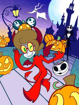 Halloween Adventures in Disneyland