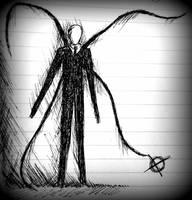 Slender Sketch by Caelistis-Rydraline