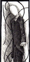 Slenderman Bookmark by Caelistis-Rydraline