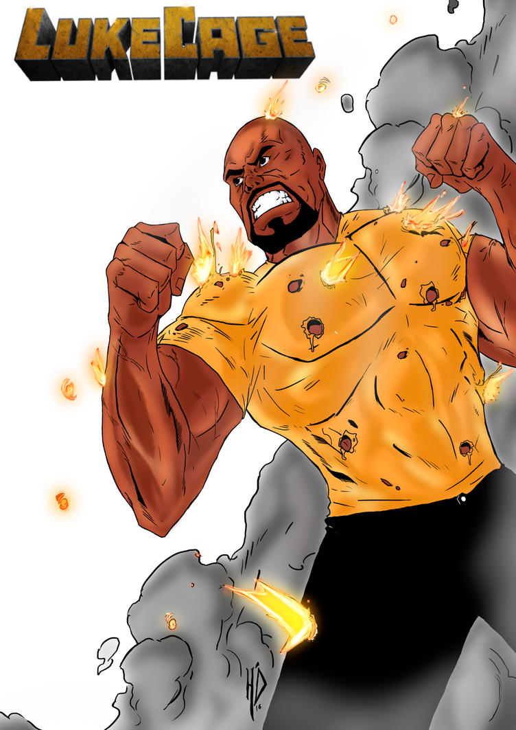 Luke Cage by hudsonluizrodrigues