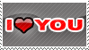 'I Love You' Stamp by penaf