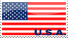 """USA Flag"" Stamp by penaf"