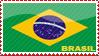 'Brasil Flag' Stamp