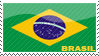 'Brasil Flag' Stamp by penaf