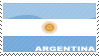 'Argentina Flag' Stamp by penaf